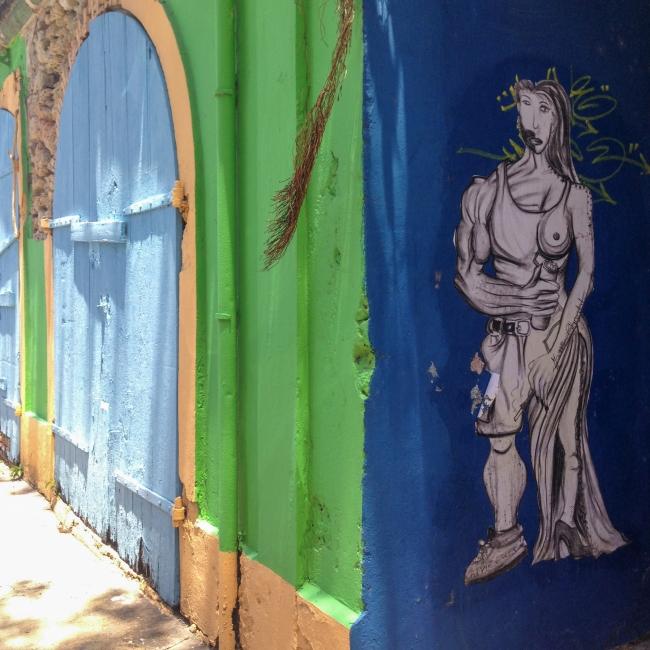 guadeloupe, rue, pointe à pitre, retour d'inspiration