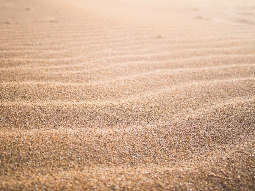 lignes de sable, guadeloupe, plage