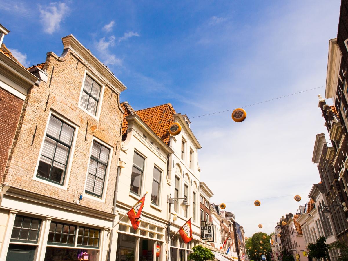 le fromage hollandais: étape à Gouda et Alkmaar