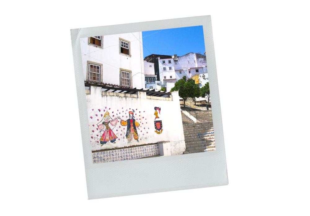 lisbonne, portugal, façade, escalier