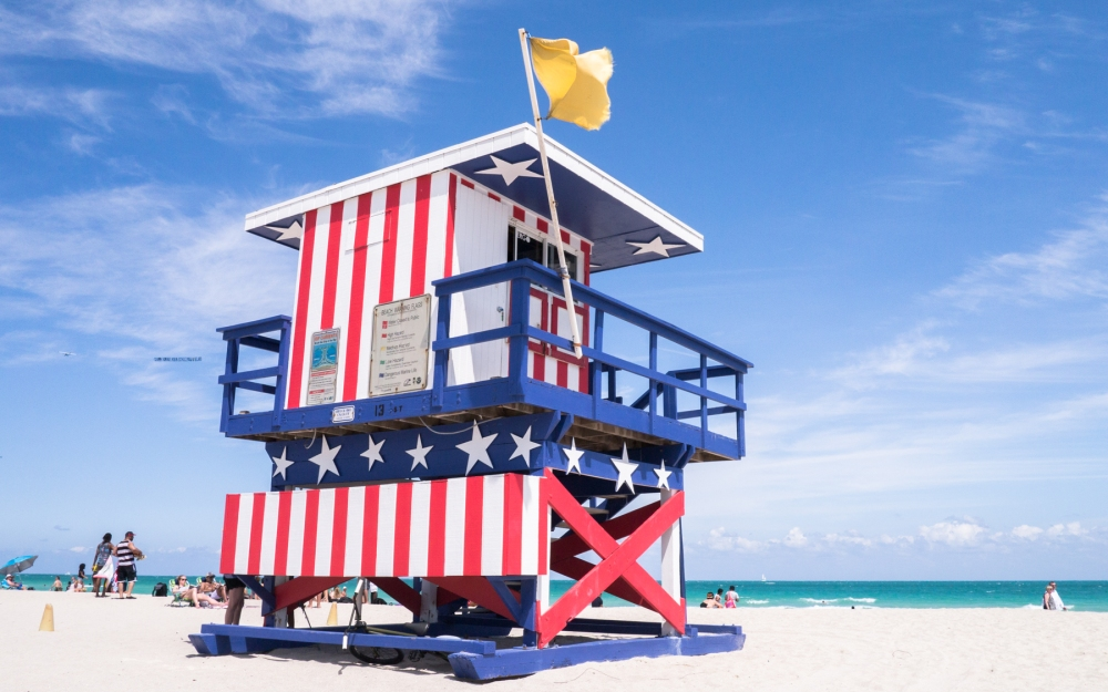 lifeguards, miami, south beach, poste de secours