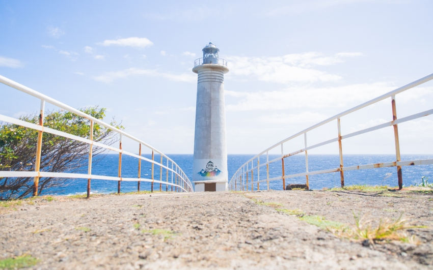vieux fort, basse terre, guadeloupe