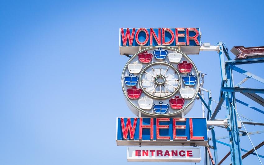 coney island, new york, brooklyn, hotdog, états unis