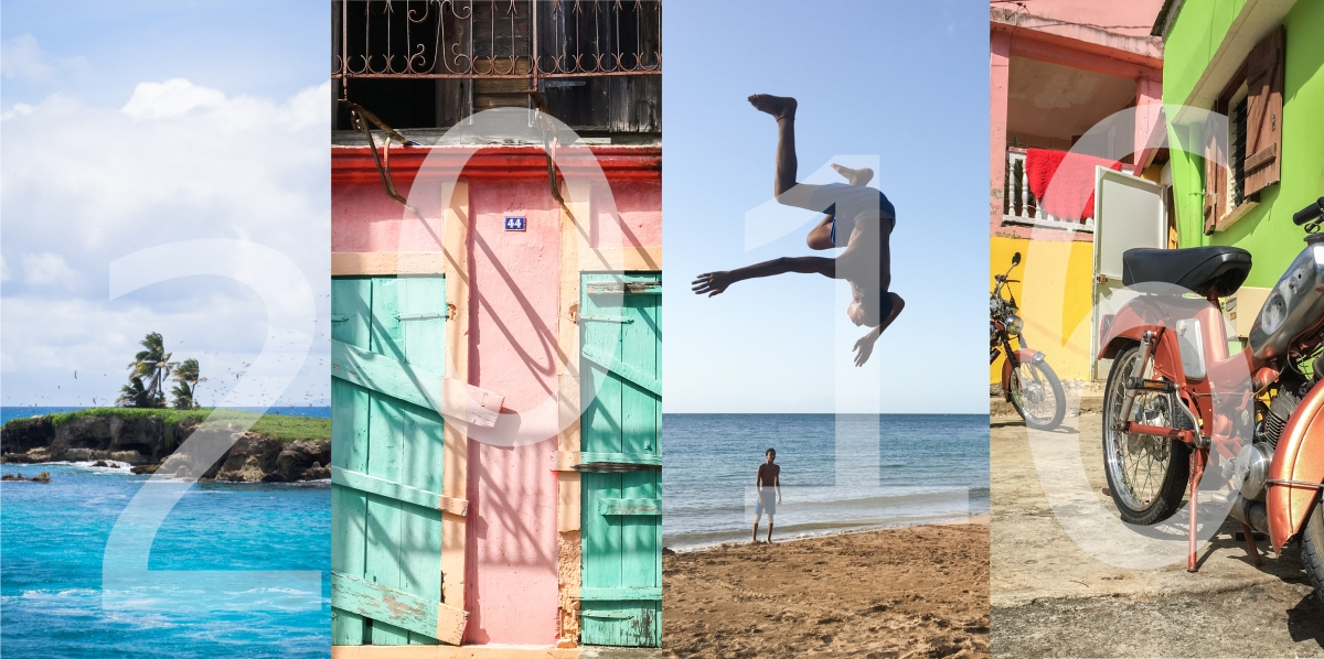 retour sur une année en images : 100 % Guadeloupe