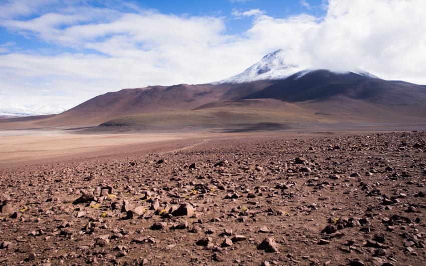 bolivie, altiplano, los lipez, volcan, laguna verde