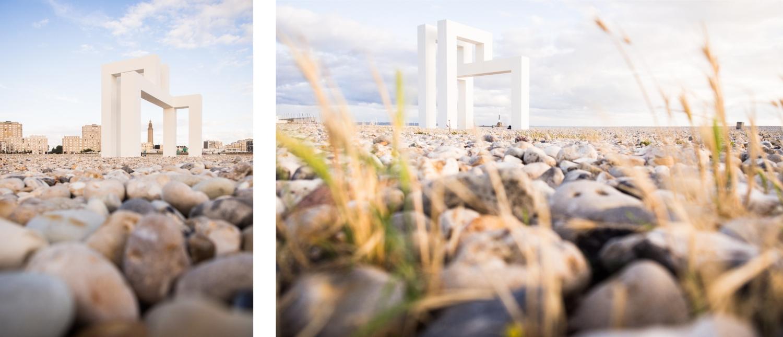 le havre, un été au havre, normandie, port, cabanes, plage, up#3, lang baumann