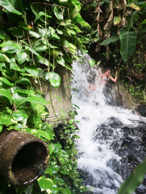 cascade, dolé, basse terre, guadeloupe