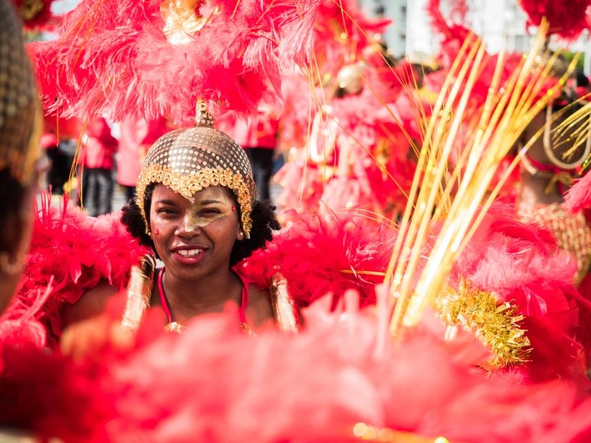 portrait, carnaval, guadeloupe