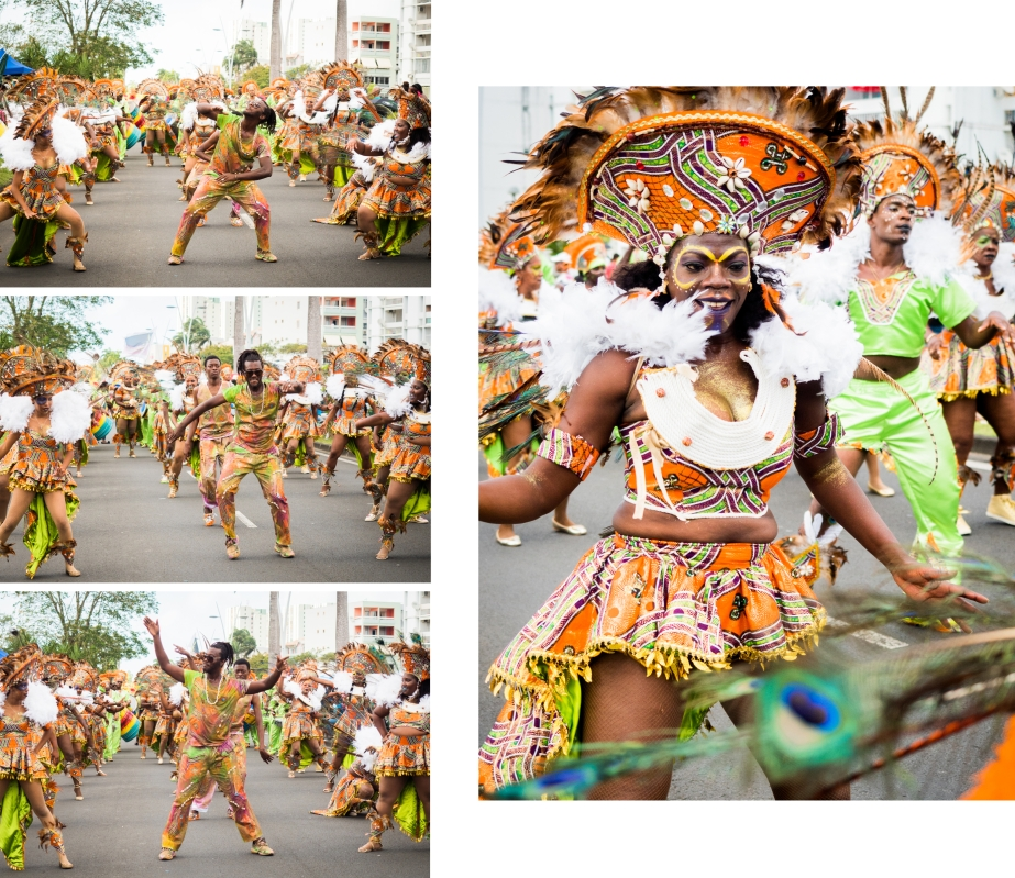 carnaval, guadeloupe, portraits