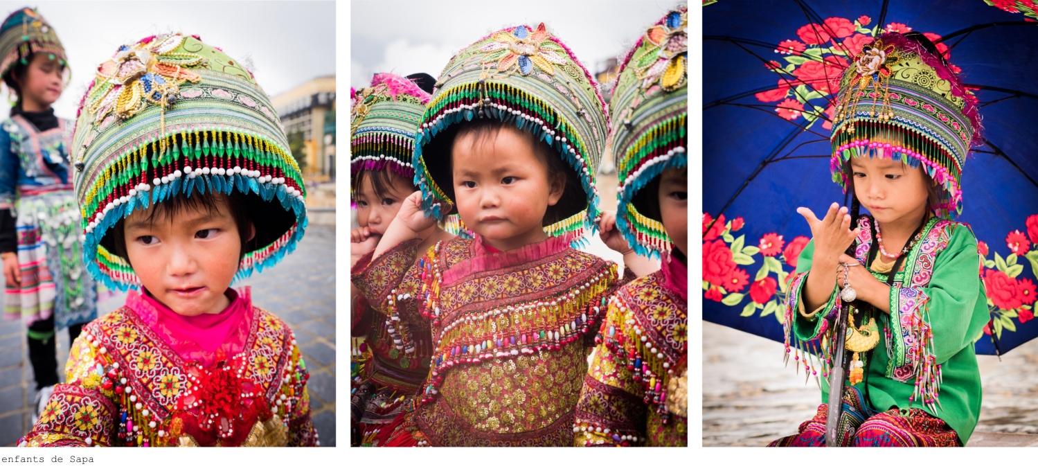 sapa, vietnam, ethnie minoritaire, sapa, portraits